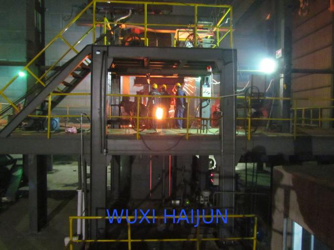 CCM 1 Strand CCM Continuous Casting Machine Ladle Turret with Cross Sliding Function