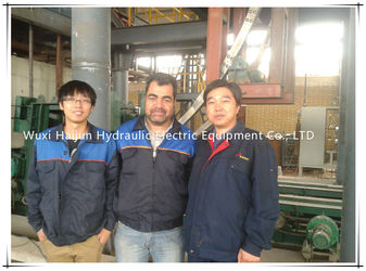 In our customers' factory