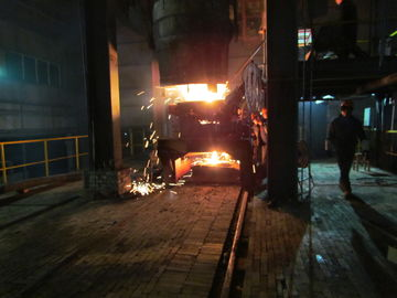 China R4M 1 Strand Continuous Casting Machine With Ladle Mounts supplier