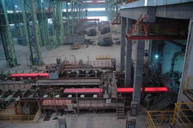 China Semi-portal 1 / 2 Strands Continuous Casting Machine For Steel Billets supplier