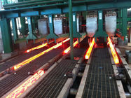 China R8m And 5 Strands Continuous Cast Billets with High-low Track Drive factory