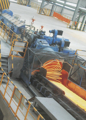 Hot Rolled Wire Equipment , steel rolling mill machinery