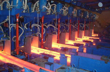 China High Performance Rigid Billet Casting Machine / Billet Casters R6M 1S CCM distributor