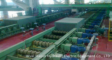 China Steel Continuous Cast Billets , R8m 5 Strands , Ladle Turret distributor